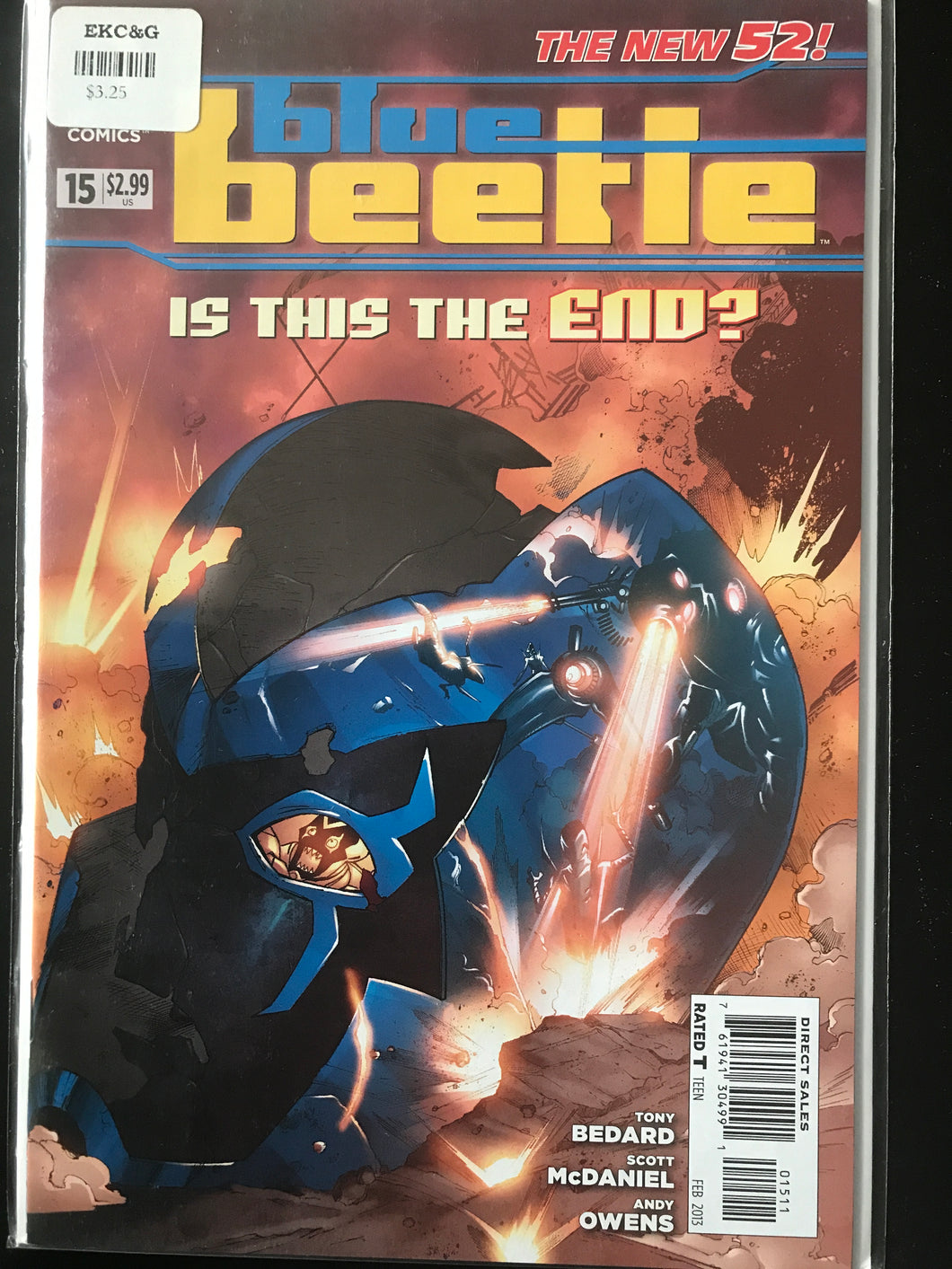 Blue Beetle (2011 3rd Series) #15