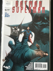 Batman Superman (2013 DC) #15A