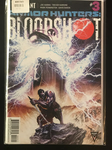 Armor Hunters Bloodshot (2014) #3A
