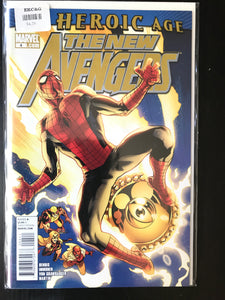 New Avengers (2010 2nd Series) #4A