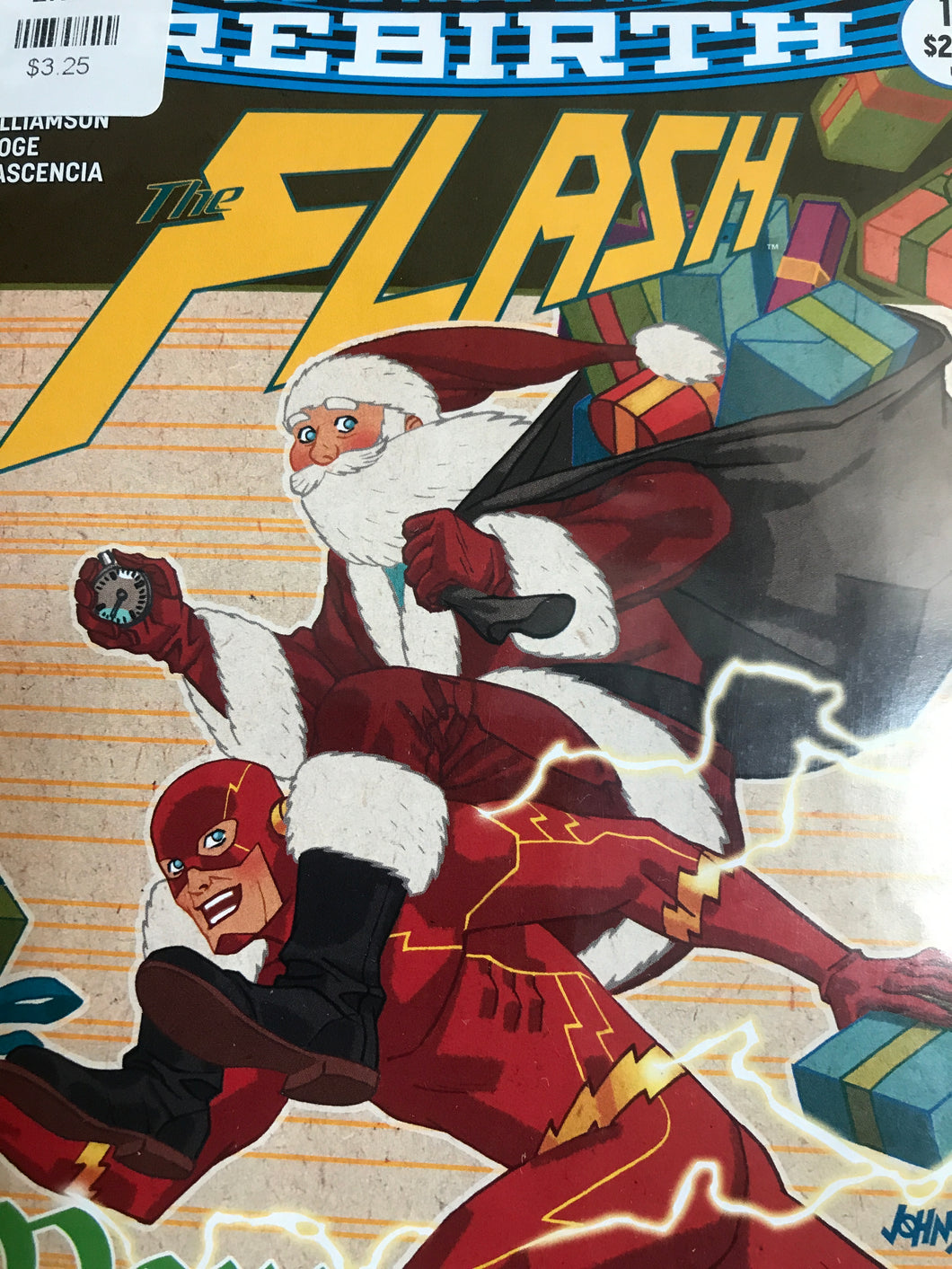 The Flash #13 (Rebirth) (Variant Cover)