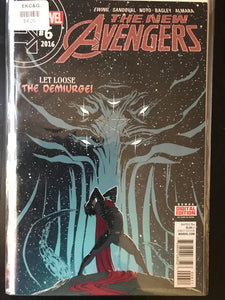 New Avengers (2015 4th Series) #6
