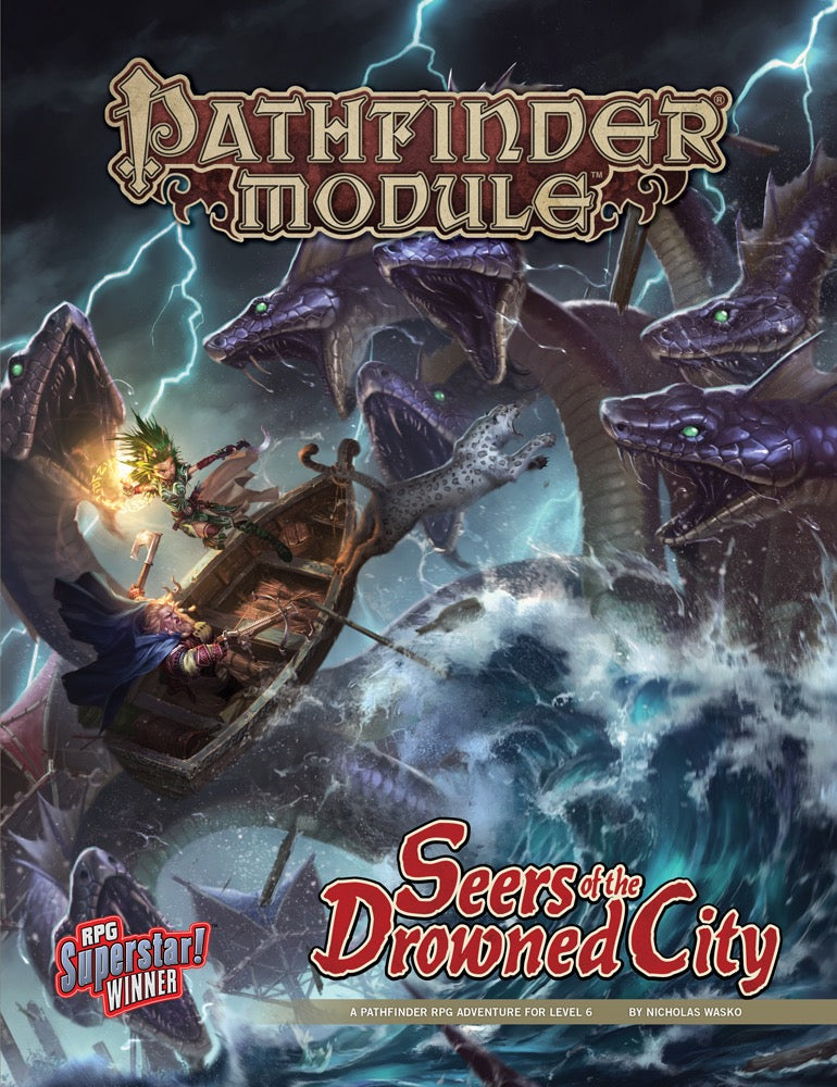 Pathfinder Module: Seers of the Drowned City by Nicholas Wasko