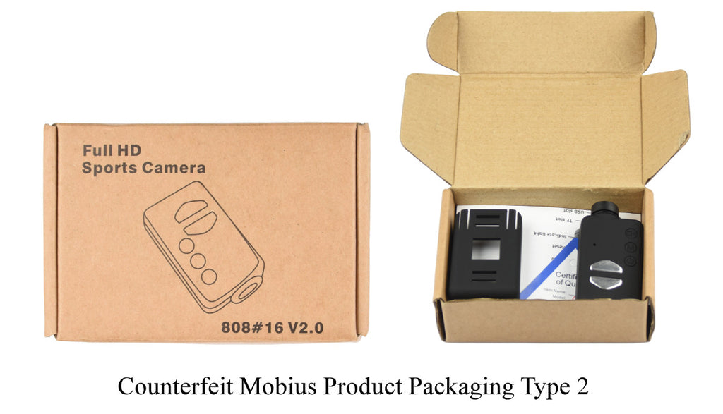 Counterfeit Mobius Product Box type 2
