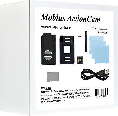 Mobius ActionCam Retail Box