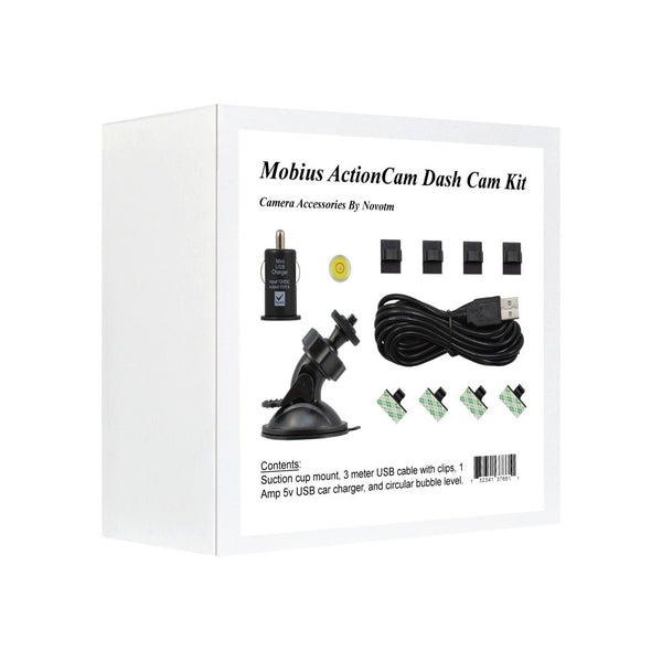 Mobius ActionCam Dash Cam Mounting Kit.