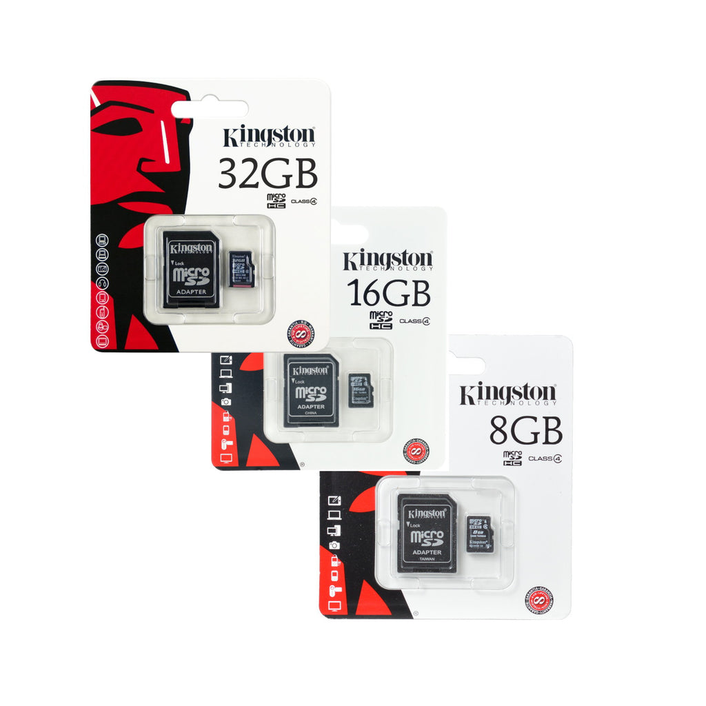 Kingston Class 4 Memory Cards