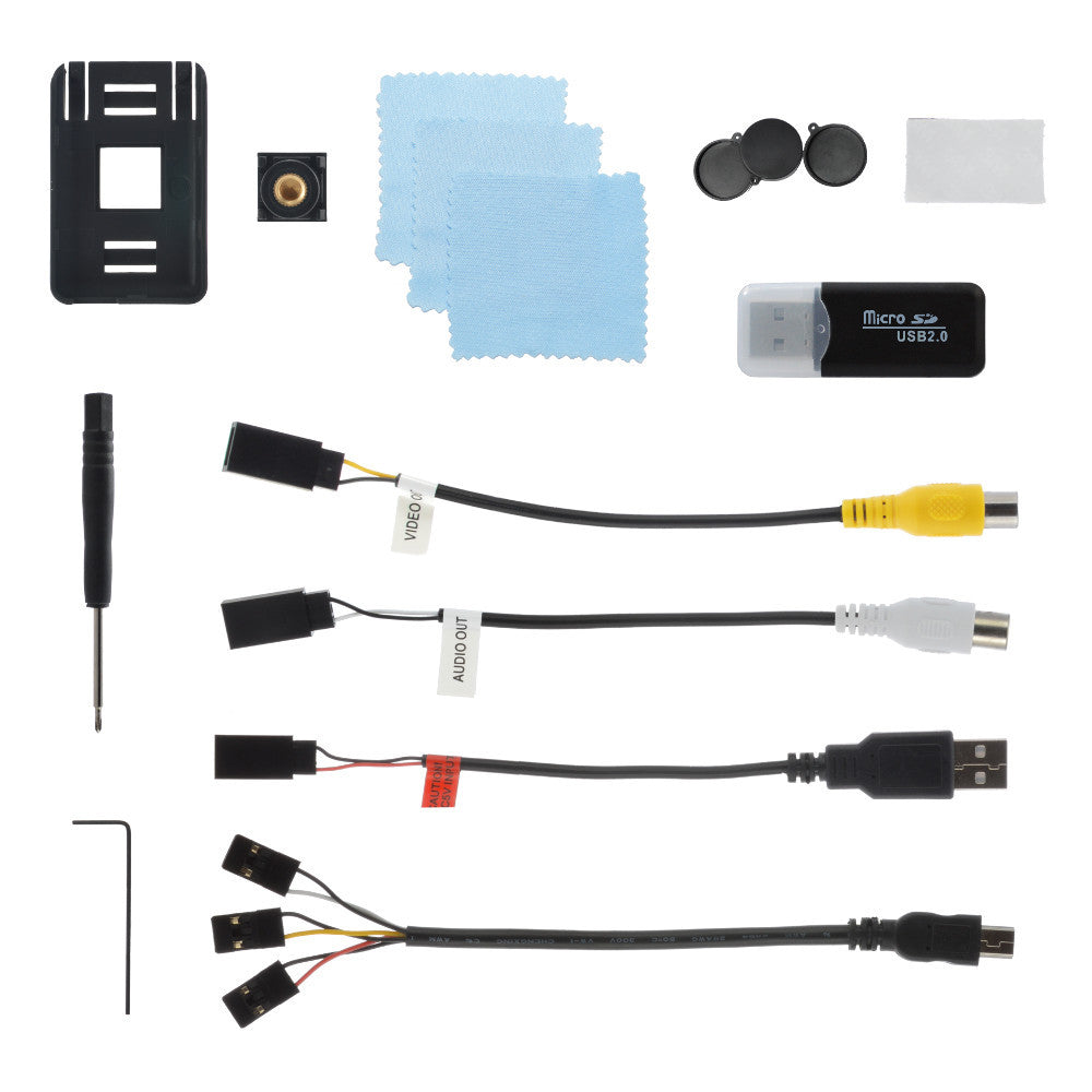 Accessory Set For The Mobius ActionCam HD Camera