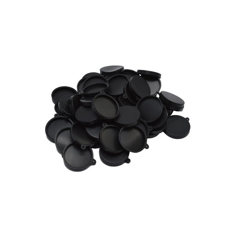 Lens caps for the Mobius ActionCam camera.