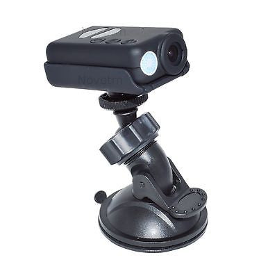 "Mobius Camera Mounted On 1/4""-20 Suction Cup Mount."
