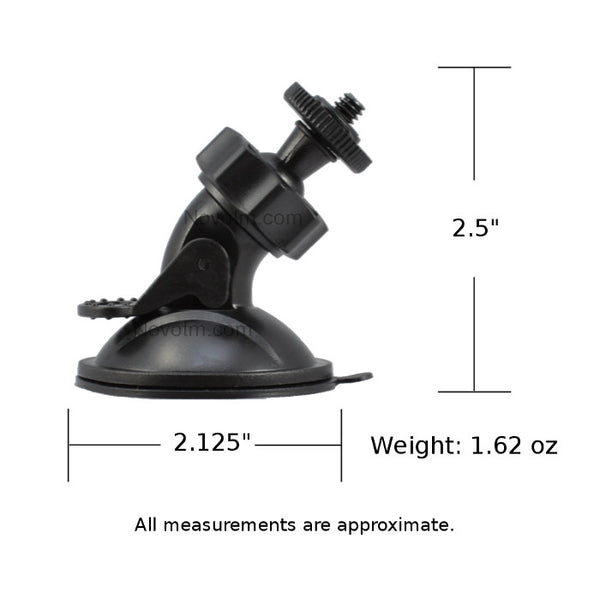 Suction Cup Camera Mount Dimensions