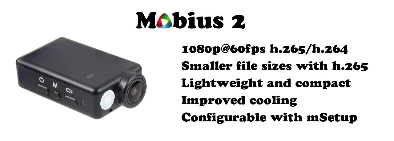 Mobius2 camera product page.