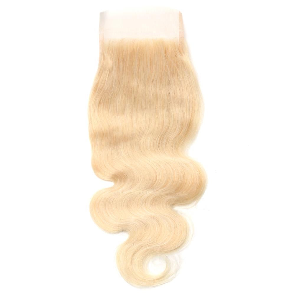 613 Blonde Lace Closure Body Wave