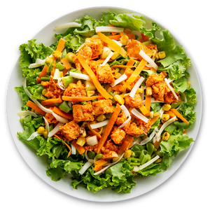 Buffalo Chicken Ranch Salad