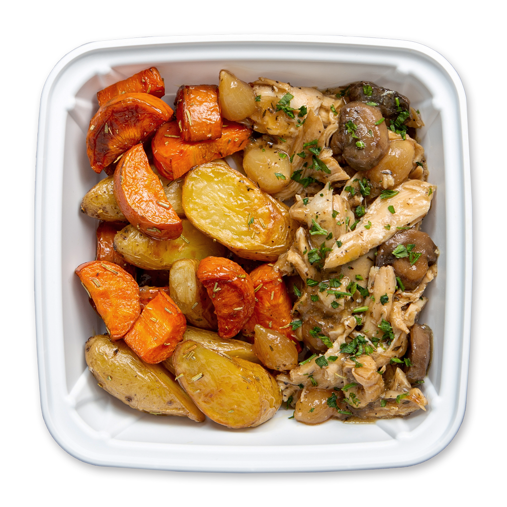 French Braised Chicken Plate