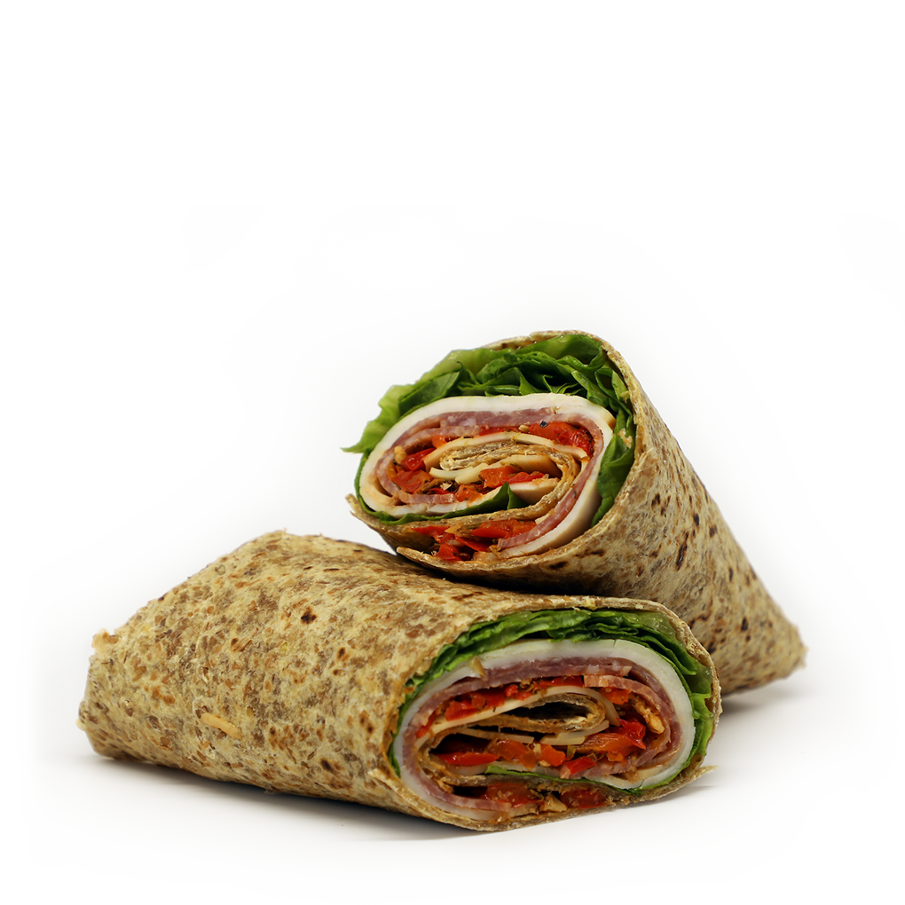 Italian Turkey Wrap