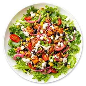 Southwest Salad with Chipotle Chicken