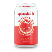 Load image into Gallery viewer, 8-Pack Spindrift Strawberry