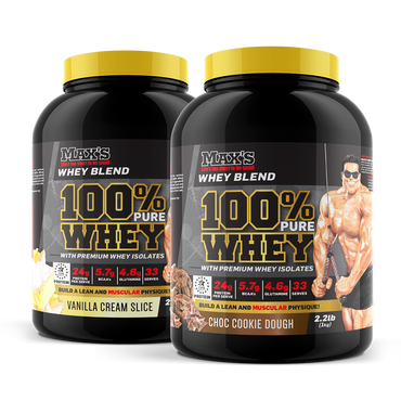 Twin Pack: 100% Whey Protein