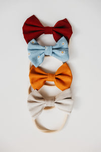 Pineapple Bow Headband ☼
