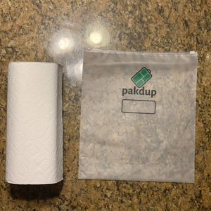 Pakdup Starter Bundle: 2 Small, 2 Medium and 2 Large