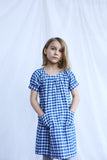 Henriette Dress in Handwoven Gingham