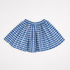 Midinette Skirt Handwoven Cotton Gingham