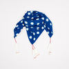 Loulou Scarf Blue Cotton Ikat