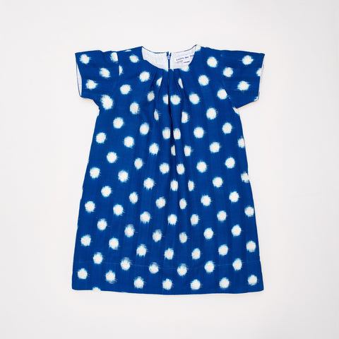 Constance Dress in Cotton Ikat