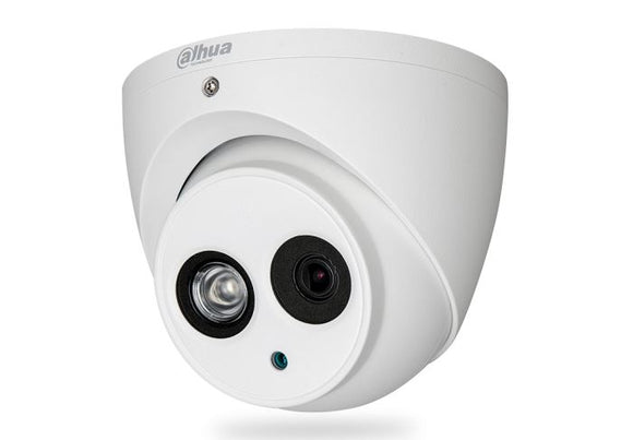 Picture of HAC-HDW1400EM: DAHUA 4MP HDCVI IR Turret Camera. IP67.