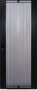 Picture of RMFD42-600Y: DYNAMIX Front Mesh Door for 42RU 600mm Wide Server Cabinet.
