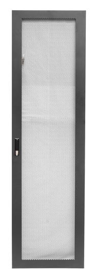 Picture of RMFD45-600Y: DYNAMIX Front Mesh Door for 45RU 600mm Wide Server Cabinet.