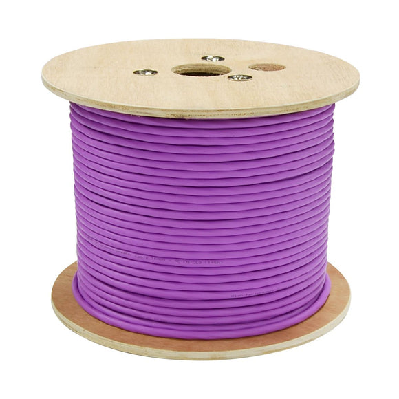 Picture of CA-164C-152: DYNAMIX 152m 4Core 16AWG/1.31mm Dual Sheath High-Performance Speaker Cable. 65/0.16BCx2C, OD: 5.8mm, Rip Cord CL3 Rated. Colour Violet Jacket. Meter Marked.