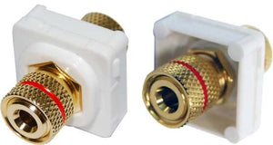 Picture of FP-BINP-RE: AMDEX Red Speaker Binding Post. Gold Plated