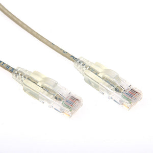 Picture of PLS-C6-2: DYNAMIX 2m Cat6A 10G Beige Slimline Component Level UTP Patch Lead (30AWG)