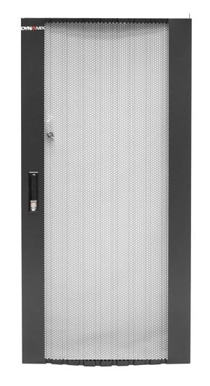 Picture of RMFD27-600Y: DYNAMIX Front Mesh Door for 27RU 600mm Wide Server SR Series Cabinet.