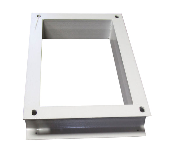 Picture of RODWPL-400: DYNAMIX Floor Mount Plinth for 400mm Deep Outdoor Wall Mount Cabinet. (600 x 400 x 100mm).