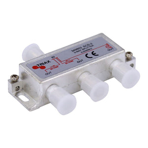Picture of 349803: TRIAX RF 3-Way Splitter 5~2400MHz. All ports power pass - diode steered.