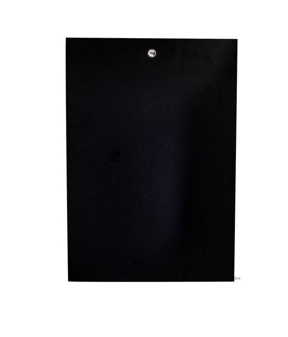 Picture of RAWSD9: DYNAMIX 9RU Solid Front Door for RSFDS and RWM series cabinets