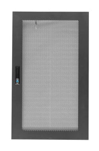 Picture of RMFD18-600Y: DYNAMIX Front Mesh Door for 18RU 600mm Wide Server Cabinet.