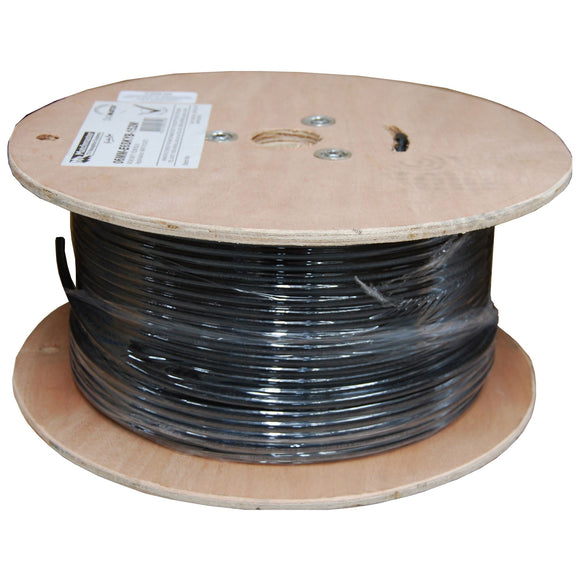 Picture of C-C6AS-EXTBK: DYNAMIX 305m Cat6A Black S/FTP UV Stabilised Shielded External Cable.