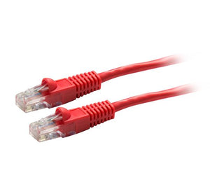 Picture of PLR-OEM-PP: DYNAMIX 0.3m Cat5e OEM Red UTP Patch Lead (T568A Specification)