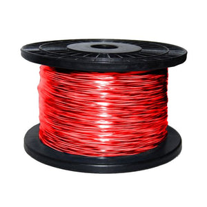 Picture of C-2CPPC-300: DYNAMIX 300m 2C 1.13mm Bare Copper , Red/Black Trace Figure 8x Parallel Power Cable, Meter Marked, 16/03 x 2 CORE V-90 50V AC/120V