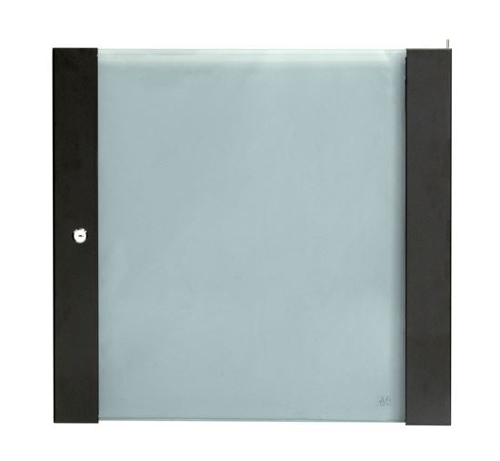Picture of RSFDSFD12RU: DYNAMIX 12RU Glass Front Door for RSFDS/RWM Series Cabinets