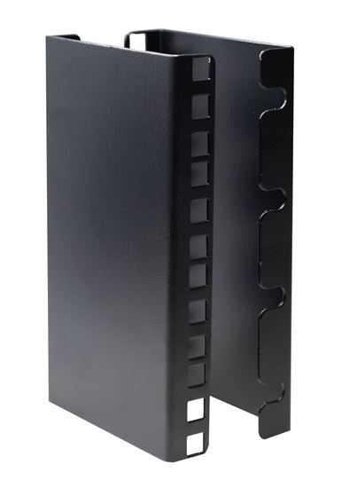 Picture of RAVEXT-4U: DYNAMIX Vertical Rail Extension Bracket for a 4U Rackmount. 100mm long.