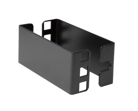 Picture of RAVEXT-1U: DYNAMIX Vertical Rail Extension Bracket for a 1U Rackmount. 100mm long.