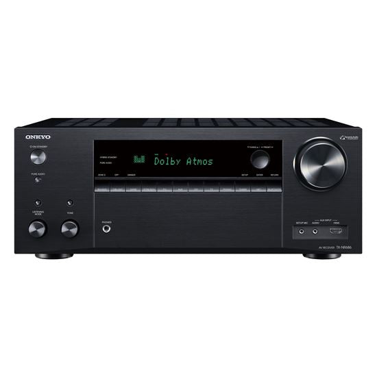 Picture of TXNR686B: ONKYO 7.2 Channel Network AV Receiver..