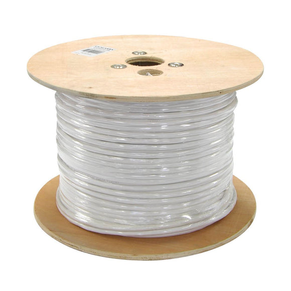Picture of C-STPC6-STR: DYNAMIX 305m Cat6 FTP Stranded Shielded Cable Roll, 250MHz, 26AWGx4P, White LSZH Jacket, Supplied on a Wooden Reel