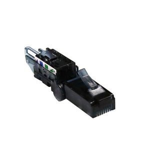 Picture of RJ-TL6AUTP: DYNAMIX RJ45 UTP Cat6A Tooless Flexible Plug, Works with both solid and stranded conductors 22~26AWG