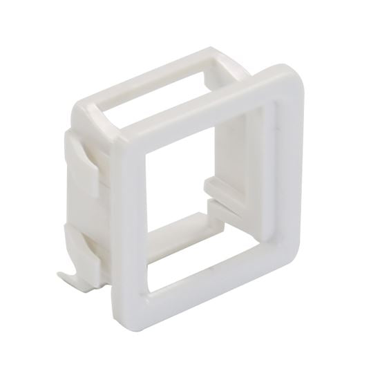 Picture of FP-AVCWH: DYNAMIX AV Keystone to PDL600 Series Compatible Modular Clip. 10 pack. Colour White   **On SALE**
